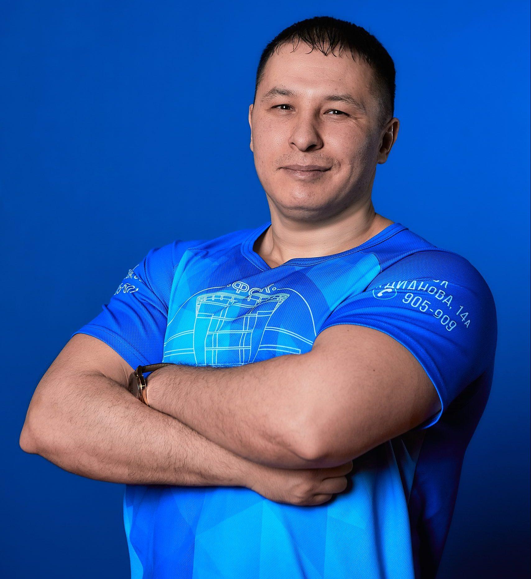Инструктор Ратмир Сатышев