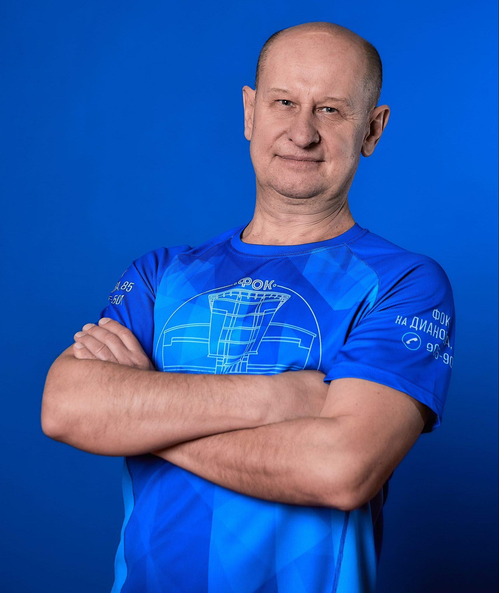 Инструктор Владимир Журавлев
