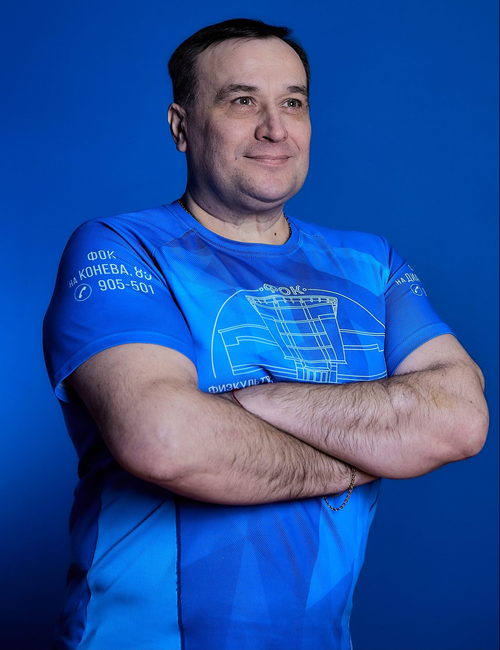 Инструктор Олег Кучмелёв