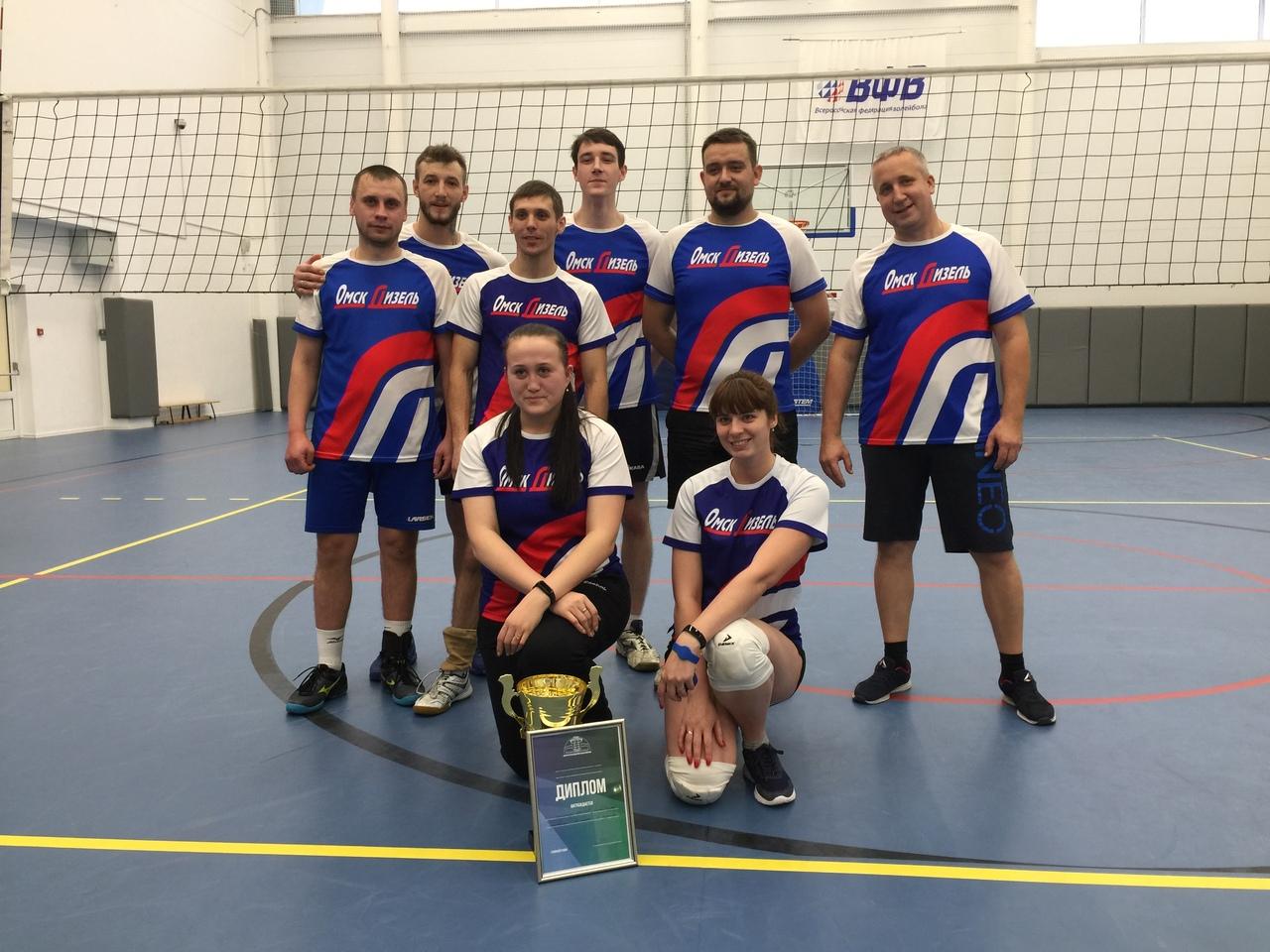 Корпоративный турнир «Кубок ФОКа-2019 по волейболу»